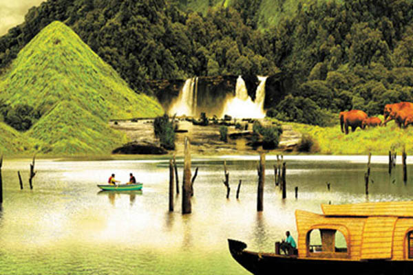 green kerala Kerala Tour Package Site